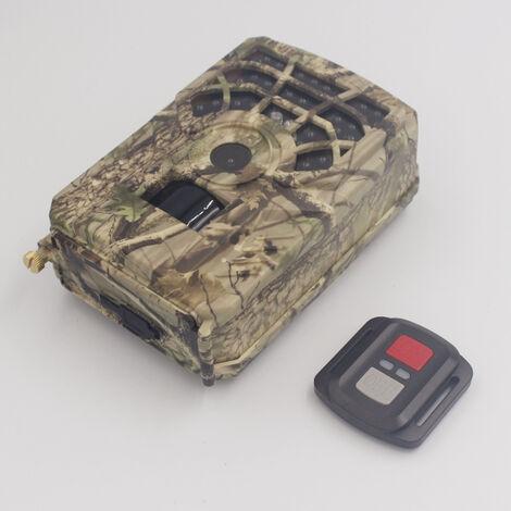 24Mp 1296P Version Wifi Vision Nocturne Infrarouge Camera De Chasse Exterieure Etanche + Telecommande, Vert Armee