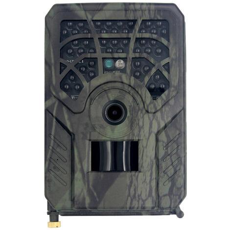 24Mp Version Wifi Vision Nocturne Infrarouge Camera De Chasse Exterieure Etanche + Telecommande, Vert Armee