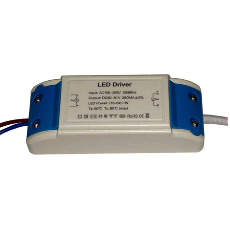 """main image of """"24W 280mAmp DC 50V-91V Compact Constant Current LED driver"""""""