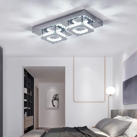 24W LED Ceiling Light Crystal Chandelier Pendant Lamp