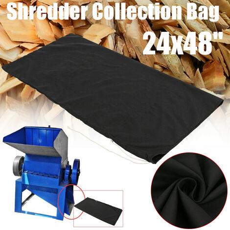 24x48 '' Negro Trituradora de madera Hoja Shredder Bolsas de recogida Craftsman MTD Mohoo