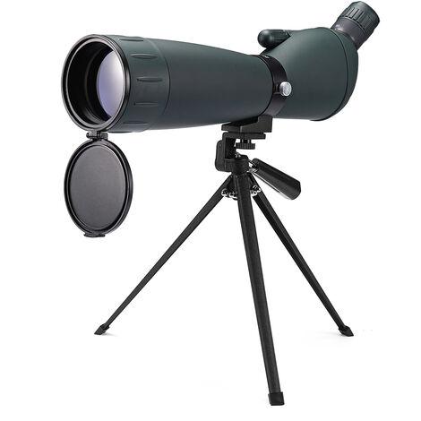 25-75X75 Zoom Monocular Telescope Spotting Scope Night Vision Kit Waterproof
