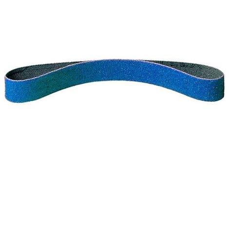 25 bandes abrasives toile zirconium CS 411 Y larg. 13 x L. 610 mm Gr 80 - 302785 - Klingspor