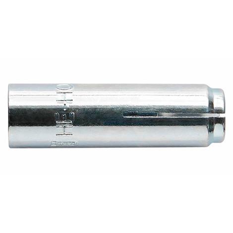 25 chevilles métalliques femelle cône intérieur ATE Option 7 M20 x 80 mm (D. 25 mm) acier zingué - HEHOM20 - Index