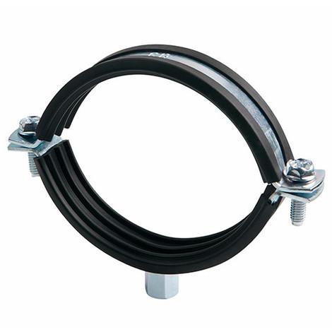 25 colliers métalliques lourds renforcés isophonique M8 - M10 D. 148 - 152 mm - ABRI150 - Index - Autre -