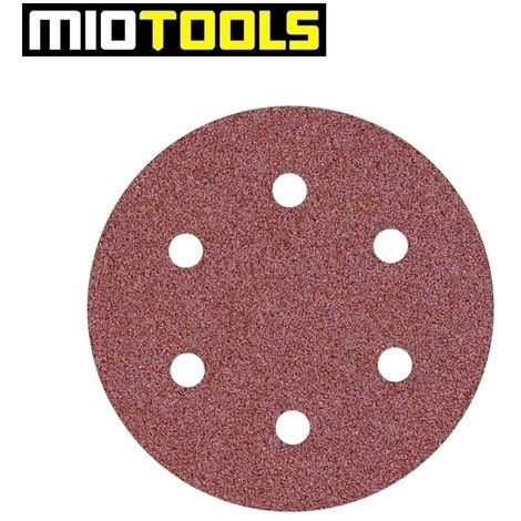 """main image of """"Disques abrasifs auto-agrippants MioTools, corindon normal, Ø 225 mm, G16–240"""""""