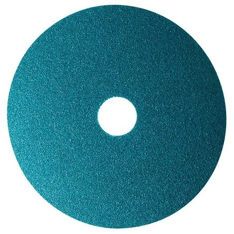 25 disques fibre zirconium - D.125 x 22,23 mm Z 100 Sidadisc - Inox - 10703008 - Sidamo - -