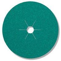 Brun Klingspor 11015 CS 561 Disque fibre Grain 60 Corindon 125 mm