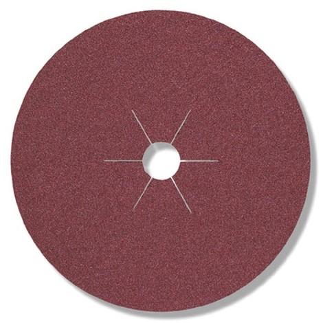 25 disques fibres corindon CS 561 D. 125 x 22 mm Gr 120 - 11018 - Klingspor - -