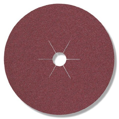 25 disques fibres corindon CS 561 D. 125 x 22 mm Gr 80 - 11016 - Klingspor - -