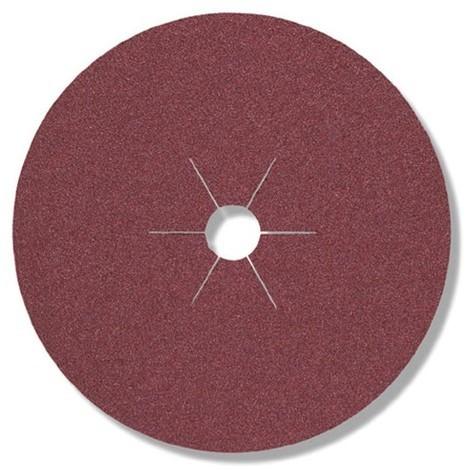 25 disques fibres corindon FS 764 D. 125 x 22 mm Gr 40 - 316478 - Klingspor - -