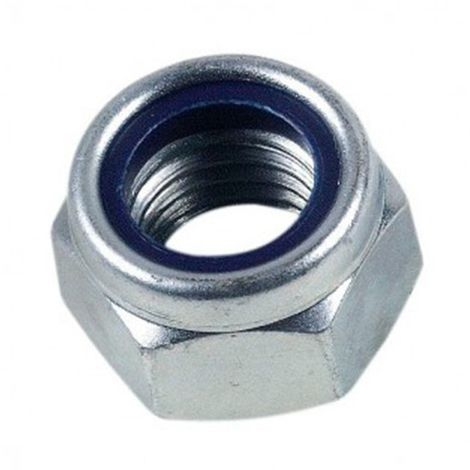 25 écrous frein indésserrable bague nylon M12 mm - Inox A2 - EIND12A2B25