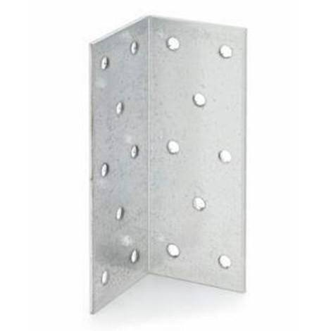 25 équerres galvanisées à chaud, angle large, 100 x 40 x 40 mm - SCGA100404 - Index
