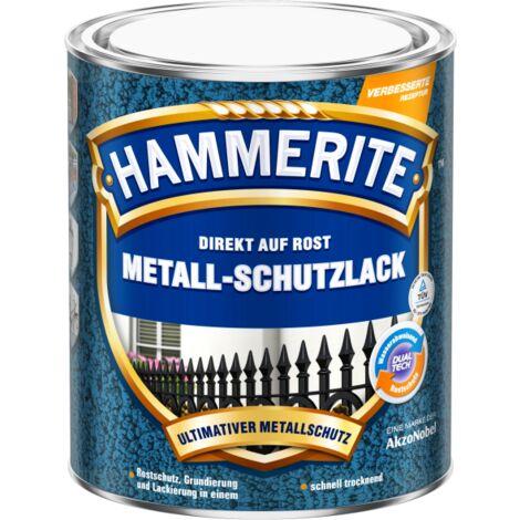 2,5 Liter Hammerite Msl Hammerschlag schwarz
