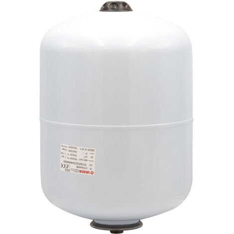 "25 Litre Varem Extravarem LC White Potable Water Expansion Vessel 3/4"" Connection"