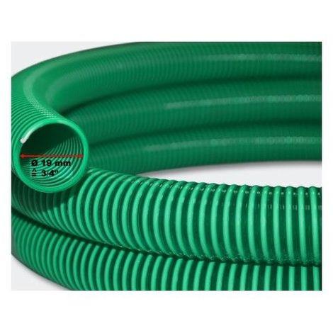 25 Mètres De Tuyau 20 mm, En PVC, Résistant Pour Aquarium Ou Bassin - Vert