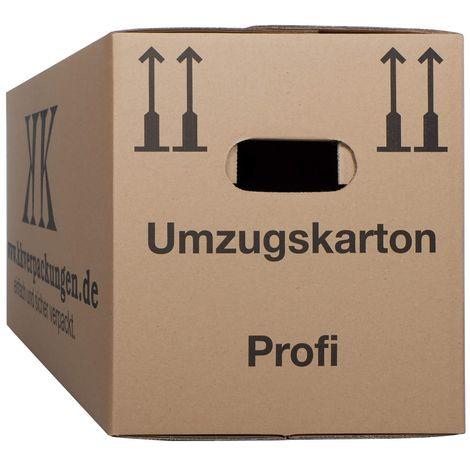 25 neue UMZUGSKARTONS 2 Wellig 45kg UMZUGKARTONS TOP