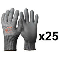 25 paires de gants anticoupures HPPE enduction polyuréthane P500 Eurotechnique- plusieurs modèles disponibles