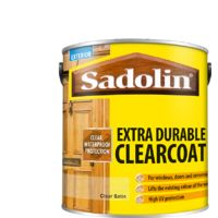 2.5 Sadolin Satin Clearcoat Extra.