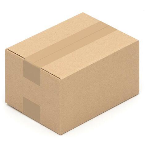 Karton braun 1 wellig 150 x Faltkartons aus Wellpappe 200x200x200mm