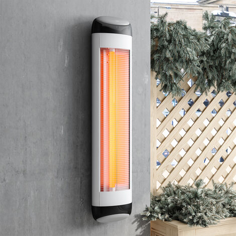 2500W Wall Mounted Electric Infrared Patio Heater