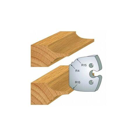 252 : jeu de 2 fers 50 mm plate bande double pour porte outils 50 mm