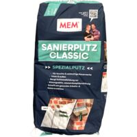 25Kg MEM Sanierputz Classic weiß