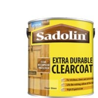 2.5L Sadolin Gloss Clearcoat Extra.