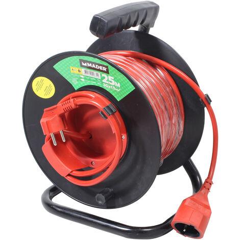 25m. extensible eléctrico exterior TTL 16A 3x1,5mm. (Mader 90674)