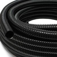 """25m Förderschlauch 25mm (1"""""""") sehr flexibel - schwarz - Made in Europe"""