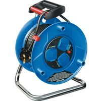 25M HEAVY DUTY CABLE REEL 13A 3-OUTLETS