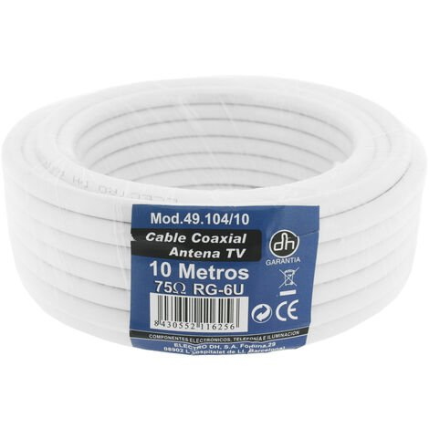 25m. rollo de cable coaxial TV (DH 49104/25)