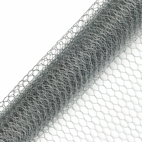 25m Wire Netting Chicken Rabbit Aviary Wire Mesh Garden Barrier Fence