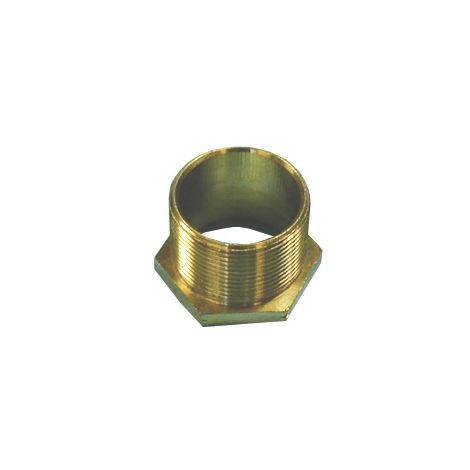 25mm Long Brass Male Bush
