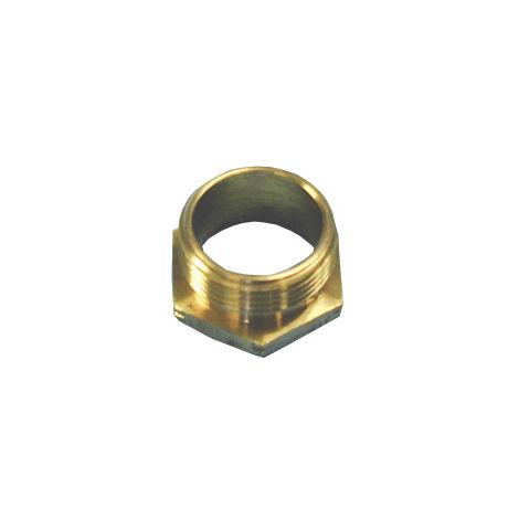 25mm Short Brass Male Bush