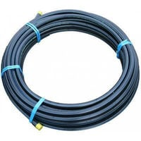 25mm x 25M MDPE Water Pipe Black