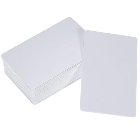 25pcs / set, tarjeta RFID de 125KHz, tarjetas blancas en blanco regrabables legibles