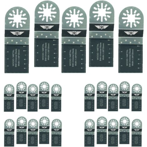 25pcs TopsTools Bi-Metal Multitool Blades - UN35B_25