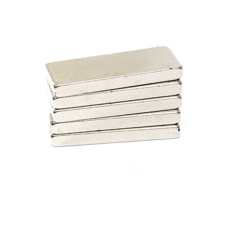 25x10x3mm N52 Neodymium Magnet Block Housing Powerful Magnetic Mohoo
