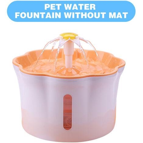 2.6L automatico del animal domestico Fuente de agua, Silent Beber electrico Dispensador de agua vibratorio, VERDE