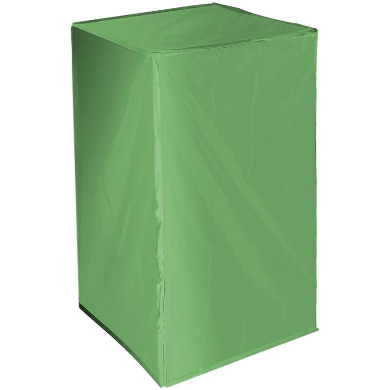 122*66*66CM Housse de chaise empilable Canapé Protection de meubles Extérieur Jardin Patio Pluie Neige Housse anti-poussière