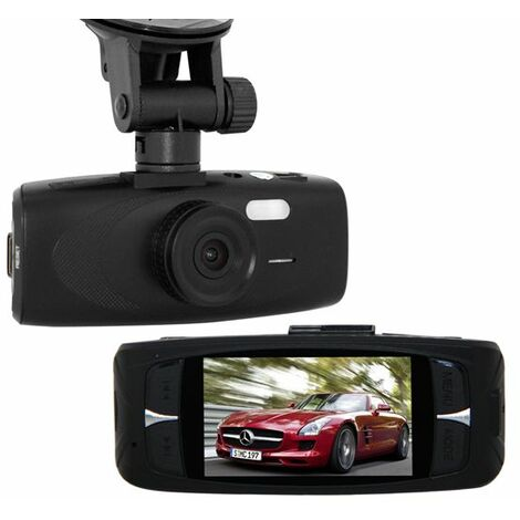 2.7 pulgadas HD 1080P 140 ° HD G-sensor LCD DVR Cámara Grabadora de video Visión nocturna
