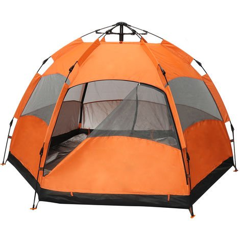 270 * 270cm 2 Tier Automatic Camping Tent