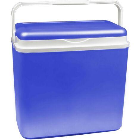 271650 Nevera portátil ADRIATIC 24Lt PP Azul plástico rígido 40x37x23 cm