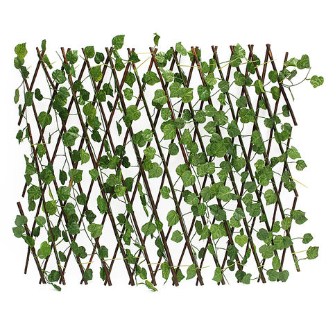 27.5 '' Artificial Windshield Fencing Wall Garden Terrace Ivy Partition Decor