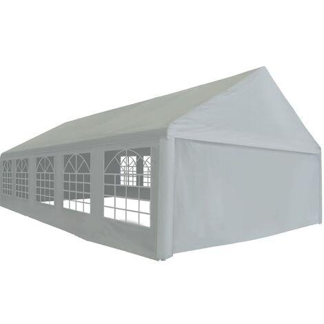 Party Tent PE Grey 5x10 m