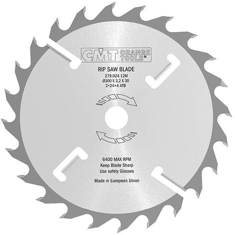 279 INDUSTRIAL MULTI-RIP CIRCULAR SAW BLADES WITH RAKERS