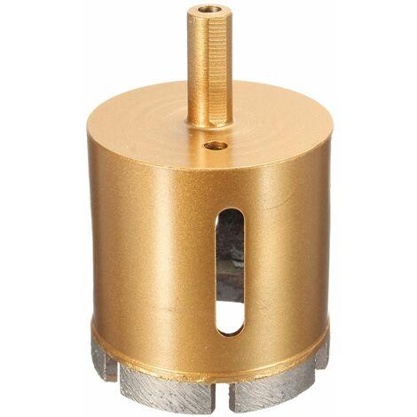 28-60mm 1/8 '' Diamond Coated Drill Bit Probe Drill Bit Marble Glass Hole Saw Drill Bit 55mm