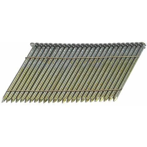 28� Bright Smooth Shank Nails 2.8 x 65mm Pack of 2000 BOSS28065