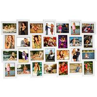 28 Fotos Bilderrahmen Fotorahmen Bildergalerie Rahmen Holz Collage 10x15cm Weiß